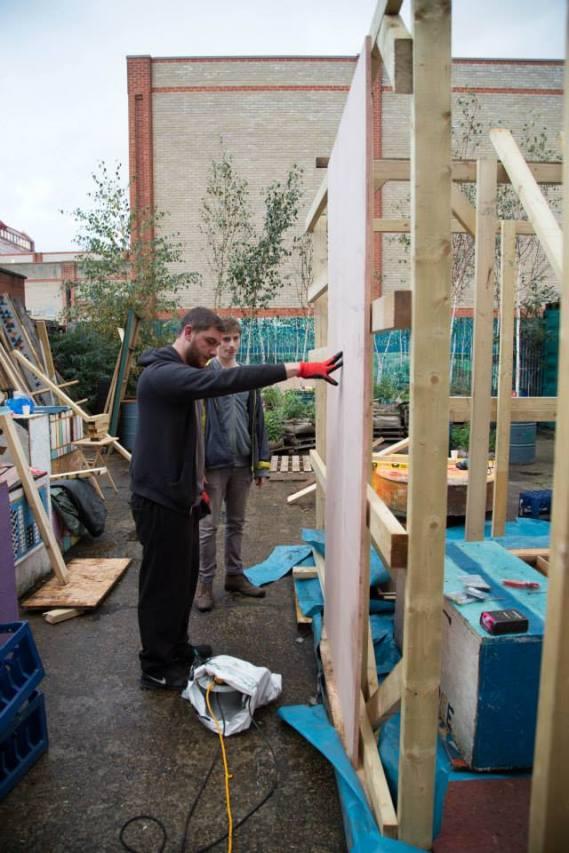 Building in the Bee Garden